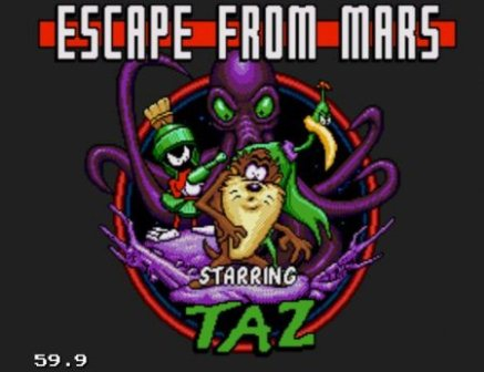 Taz in Escape From Mars, Таз: побег с Марса