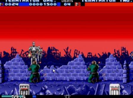 Terminator 2: the Arcade Game, Терминатор 2