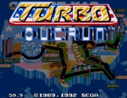 Turbo Outrun, Турбо обгон