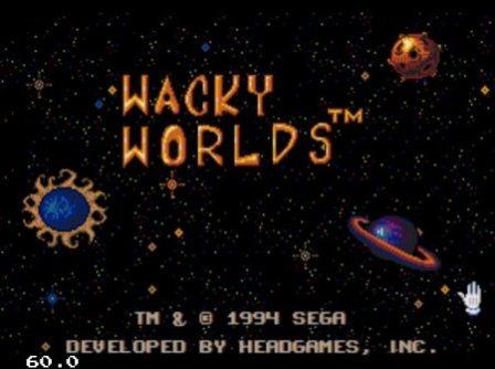 Wacky Worlds, Миры Ваки