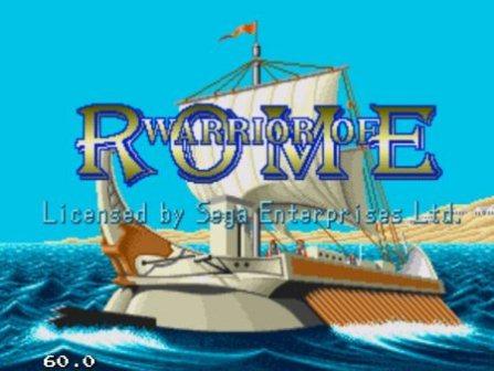Warrior of Rome, Воин Рима