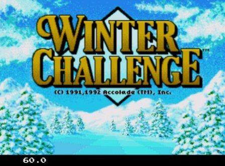 Winter Challenge, Зимние игры