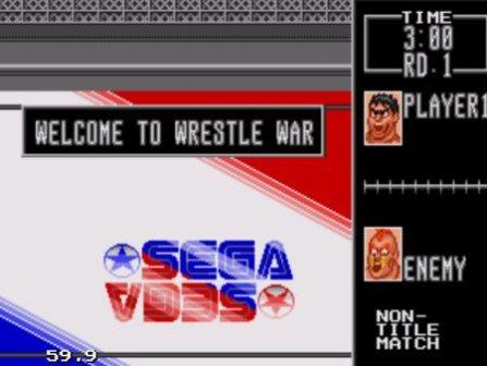 Wrestle War, Война реслеров