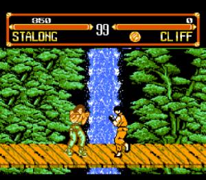 Street Fighter, Стрит Файтер на денди скачать