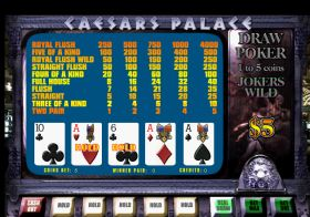Caesars Palace VIP Poker Deluxe