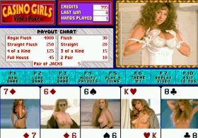 Casino Girls: Video Poker