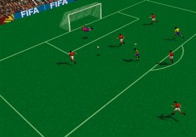 FIFA 96: Virtual Stadium Soccer